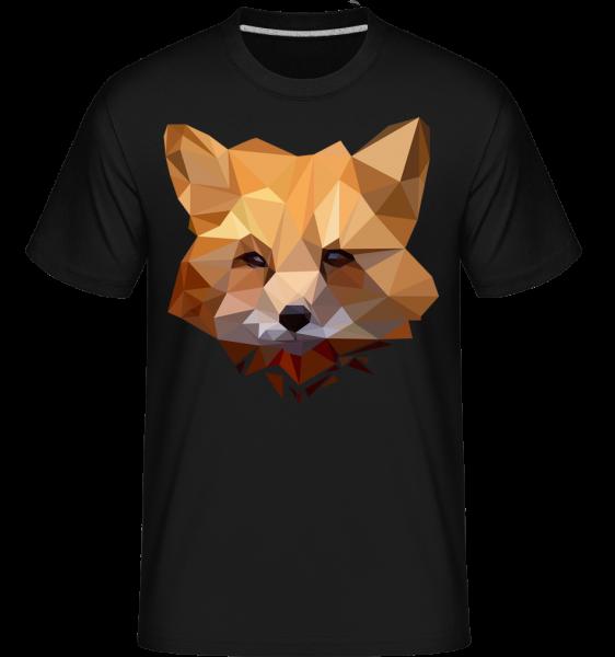 Polygon Fox -  Shirtinator Men's T-Shirt - Black - Vorn