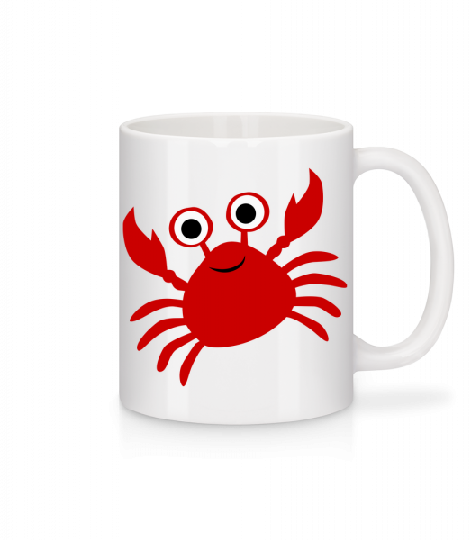 Crab - Mug - White - Vorn