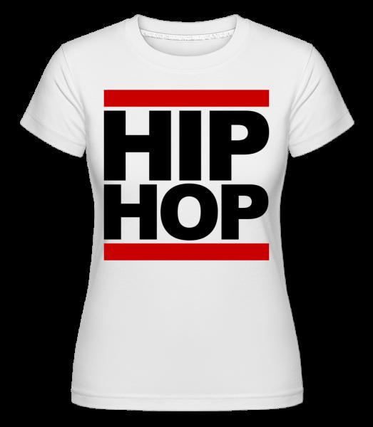Hip Hop Logo - Shirtinator Women's T-Shirt - White - Vorn