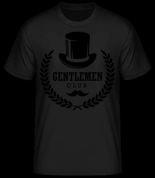 Gentlemen Club - Men's Basic T-Shirt - Black - Vorn