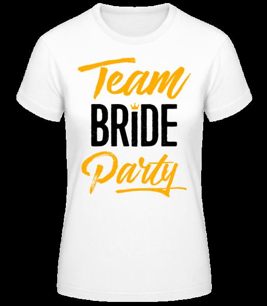 Team Bride Party - Basic T-Shirt - White - Vorn