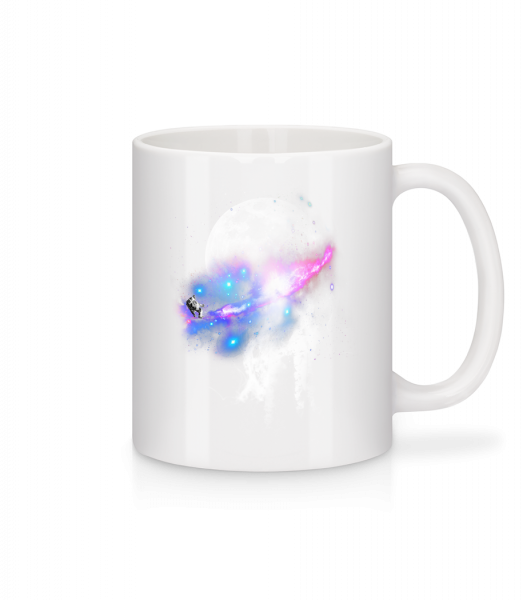 Astronaut And Galaxy - Mug - White - Vorn