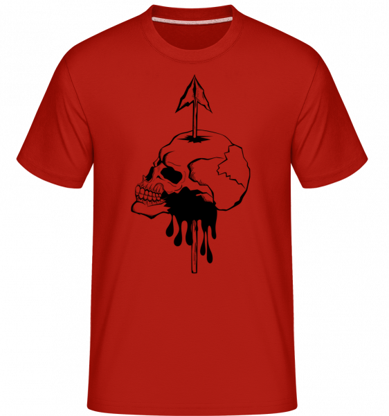 Death By Spear - Shirtinator Men's T-Shirt - Red - Vorn