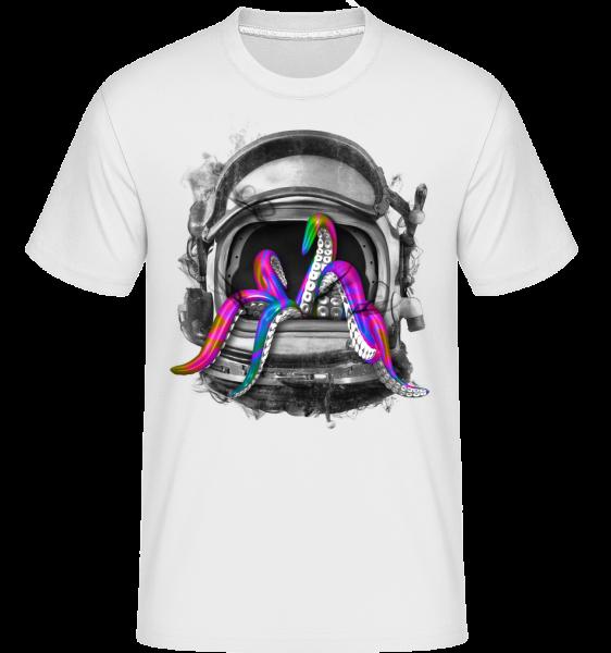 Octopus Helmet - Shirtinator Men's T-Shirt - White - Vorn