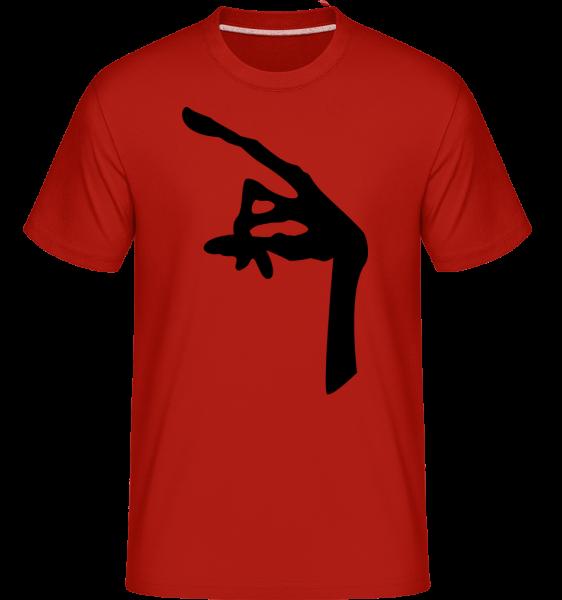Hand Of An Alien -  Shirtinator Men's T-Shirt - Red - Vorn