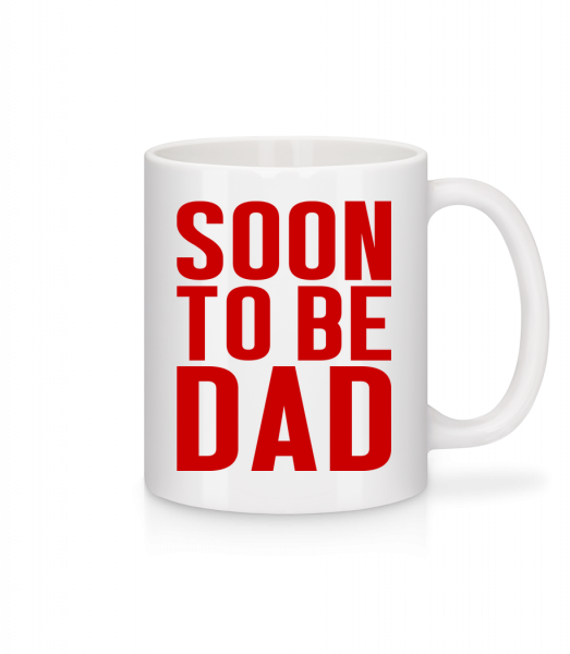 Soon To Be Dad - Mug - White - Vorn