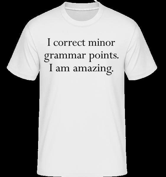 I Am Amazing - Shirtinator Men's T-Shirt - White - Vorn