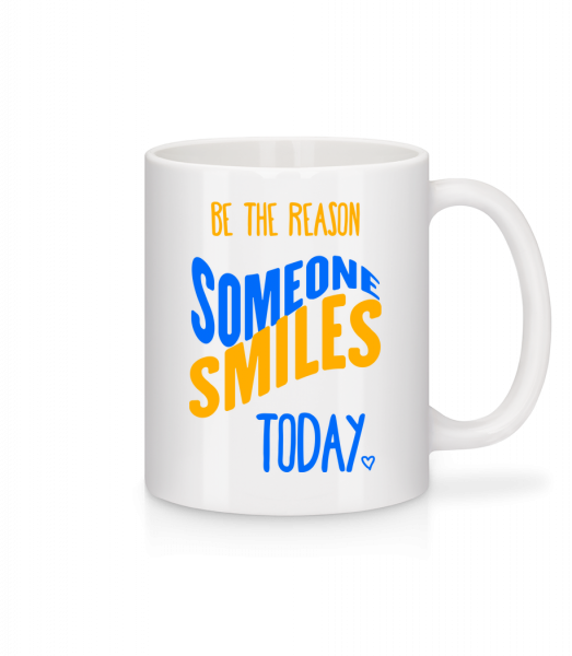 Be The Reason Someone Smiles Today - Mug - White - Vorn