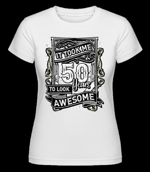 It Took Me 560 Years -  Shirtinator Women's T-Shirt - White - Vorn