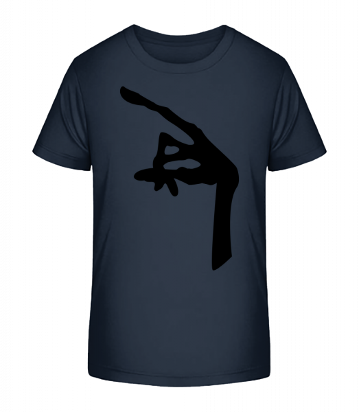 Hand Of An Alien - Kid's Premium Bio T-Shirt - Navy - Vorn