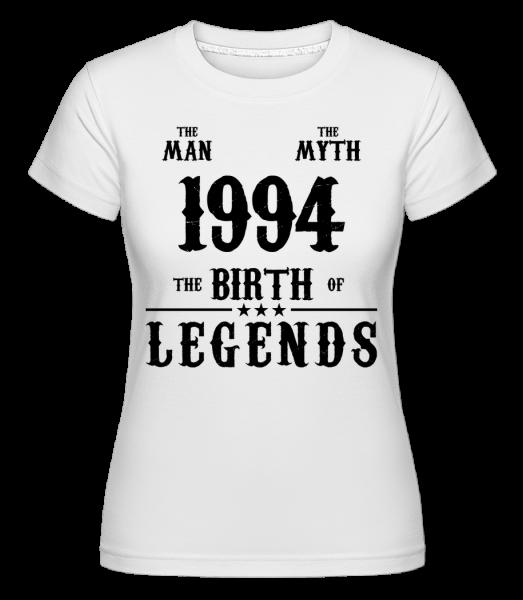 1994 The Man Myth - Shirtinator Women's T-Shirt - White - Vorn