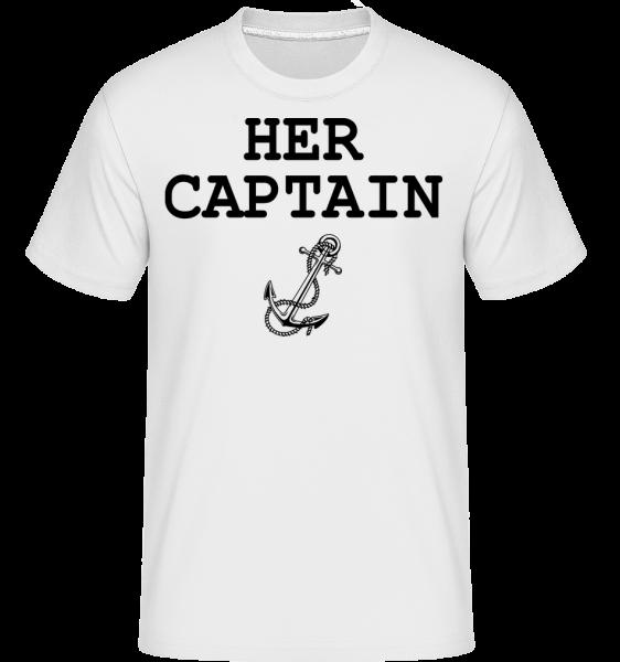 Her Captain - Shirtinator Men's T-Shirt - White - Vorn