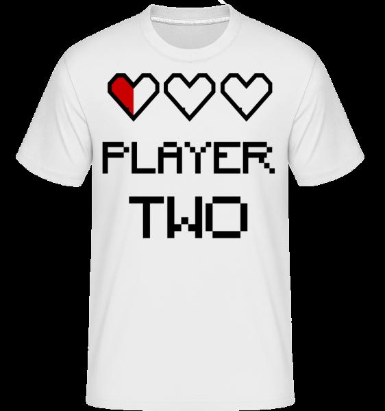 Player Two -  Shirtinator Men's T-Shirt - White - Vorn