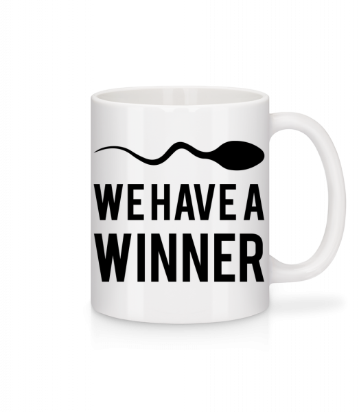 Sperm Winner - Mug - White - Vorn