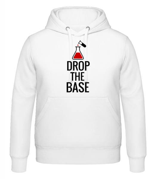 Drop The Base - Hoodie - White - Vorn