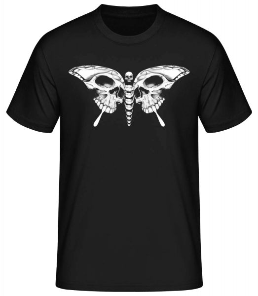 Papillon Mort - Basic T-Shirt - Black - Vorn