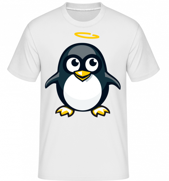 Angel Penguin -  Shirtinator Men's T-Shirt - White - Vorn