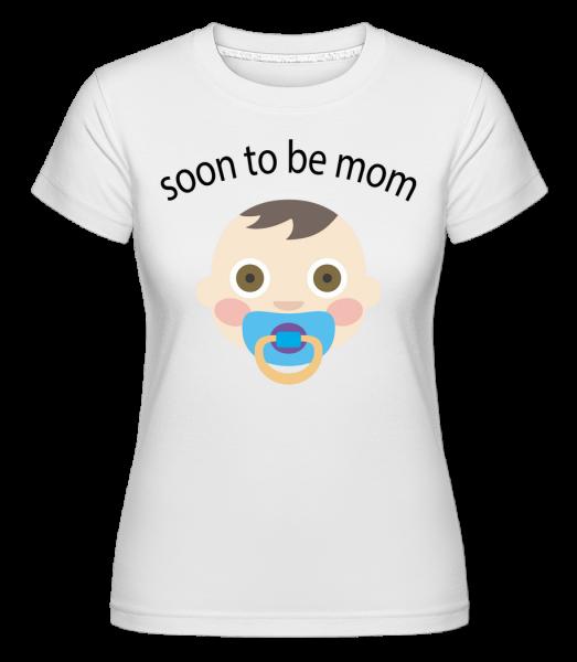 Soon To Be Mom - Shirtinator Women's T-Shirt - White - Vorn