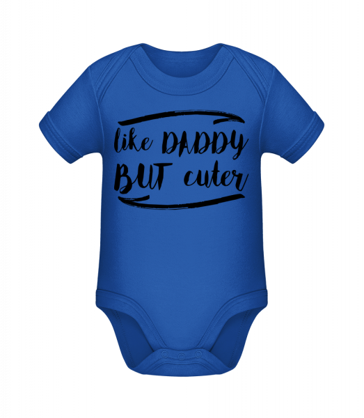 Like Daddy But Cuter - Organic Baby Body - 12-18 month - Vorn
