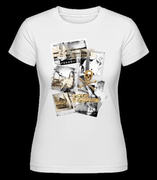 Golden Lifestyle - Shirtinator Women's T-Shirt - White - Vorn