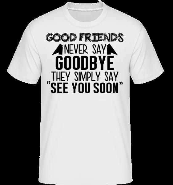 See You Soon - Shirtinator Men's T-Shirt - White - Vorn