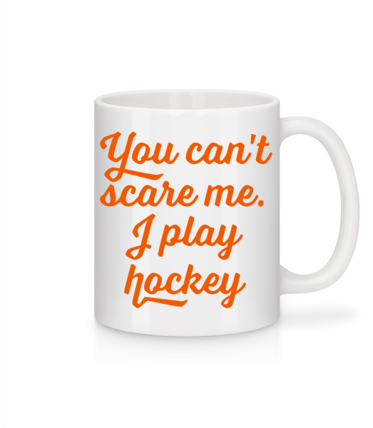 I Play Hockey - Mug - White - Vorn