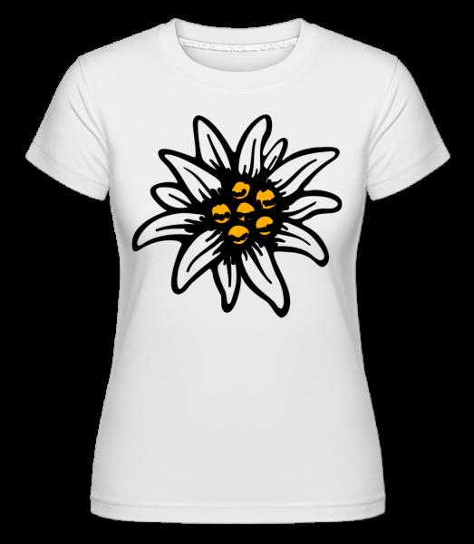 Edelweiss -  Shirtinator Women's T-Shirt - White - Vorn