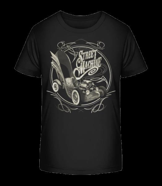 Street Machine - Kid's Premium Bio T-Shirt - Black - Vorn