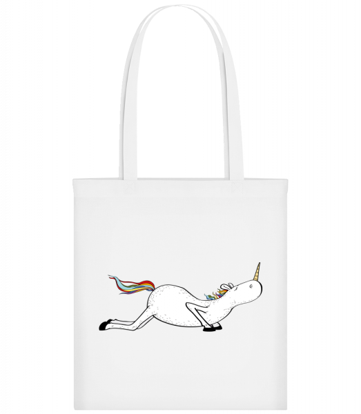 Yoga Unicorn Pushups - Carrier Bag - White - Vorn