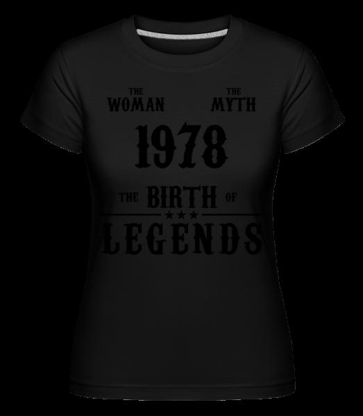 The Myth Woman 1968 -  Shirtinator Women's T-Shirt - Black - Vorn