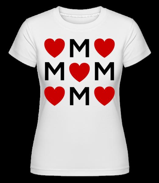 Mother Love - Shirtinator Women's T-Shirt - White - Vorn