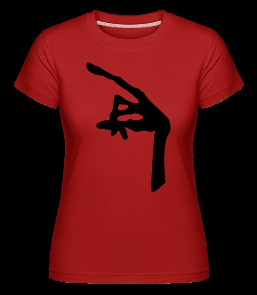 Hand Of An Alien -  Shirtinator Women's T-Shirt - Red - Vorn