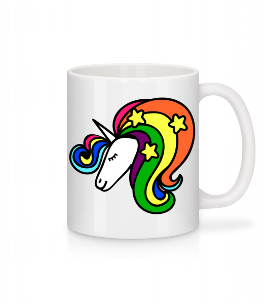 Unicorn Rainbow - Mug - White - Vorn