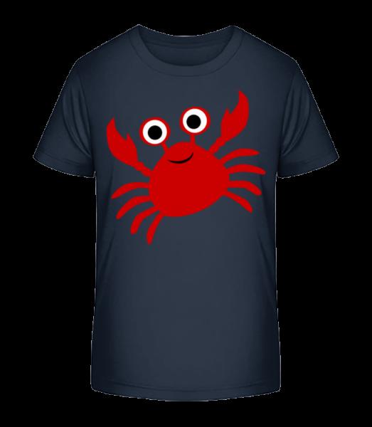 Crab - Kid's Premium Bio T-Shirt - Navy - Vorn