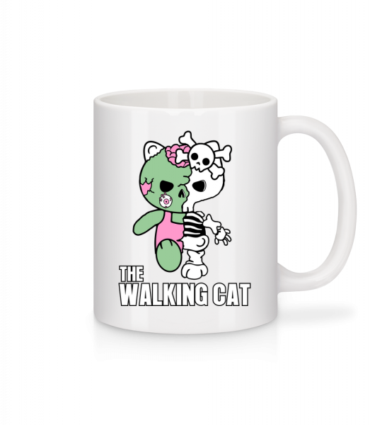 The Walking Cat - Mug - White - Vorn
