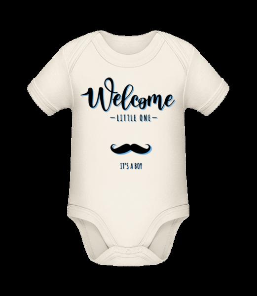 Welcome It´s A Boy - Organic Baby Body - Cream - Vorn