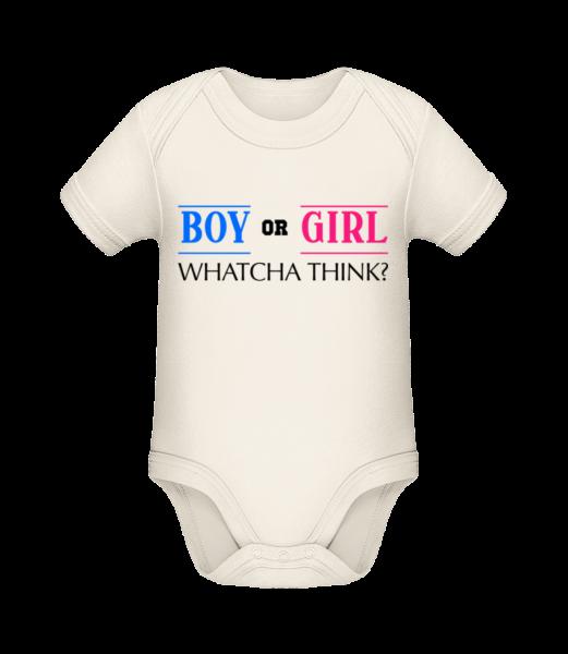 Boy Or Girl - Whatcha Think? - Organic Baby Body - Cream - Vorn