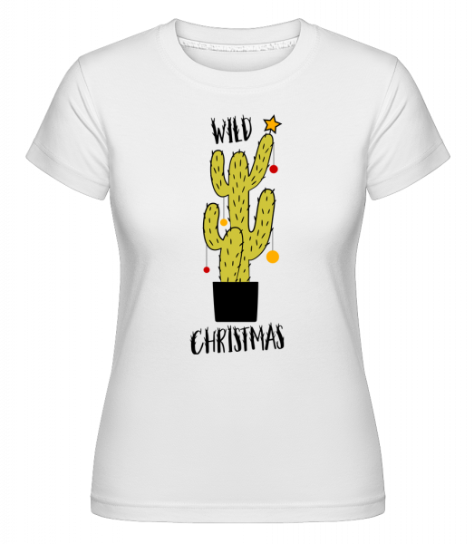 Wild Christmas -  Shirtinator Women's T-Shirt - White - Vorn