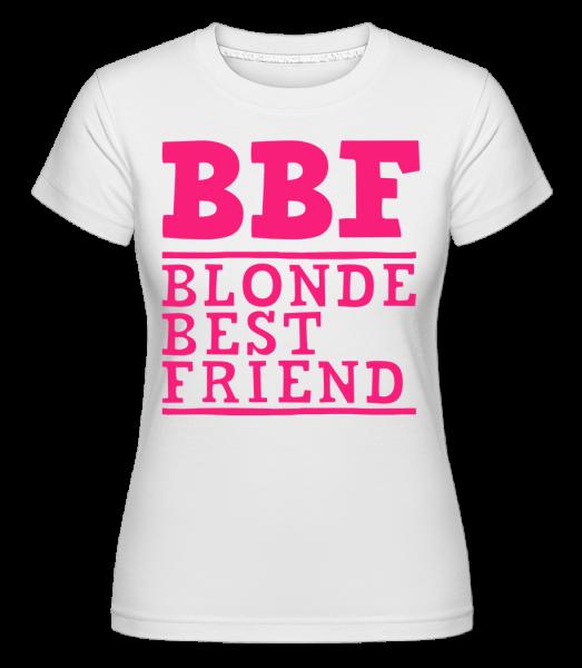 bff Blonde Best Friend -  Shirtinator Women's T-Shirt - White - Vorn