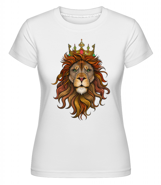 Lion King - Shirtinator Women's T-Shirt - White - Vorn