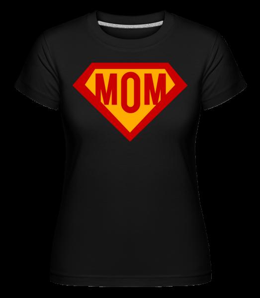 Mom Superhero - Shirtinator Women's T-Shirt - Black - Vorn