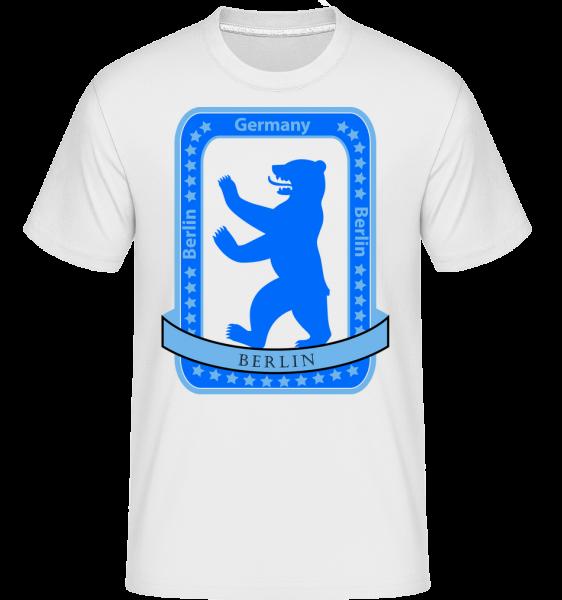 Berlin Bear Icon - Shirtinator Men's T-Shirt - White - Vorn