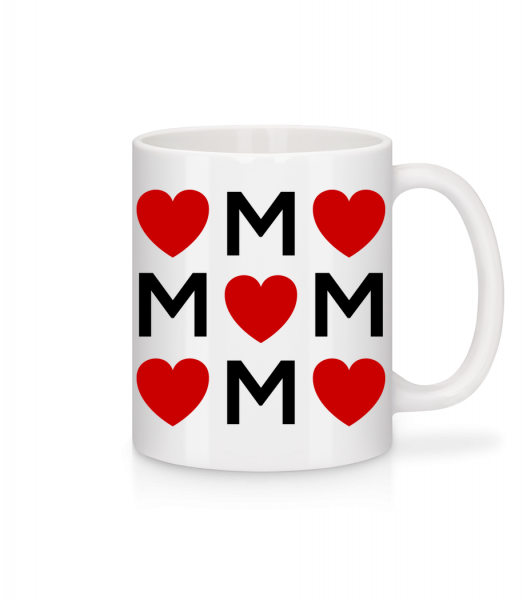 Mother Love - Mug - White - Vorn