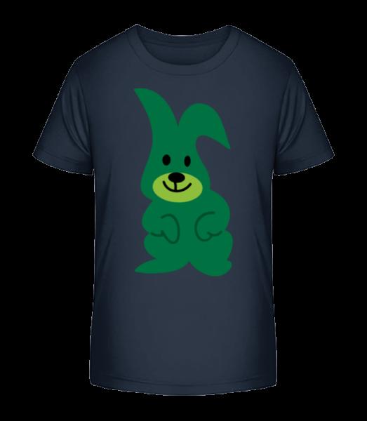 Kids Comic - Rabbit - Kid's Premium Bio T-Shirt - Navy - Vorn