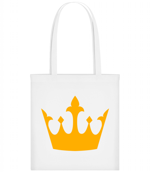 Queen's Crown Yellow - Carrier Bag - White - Vorn