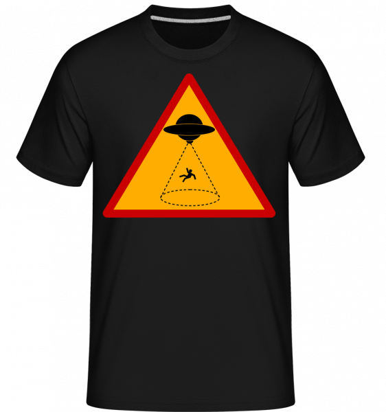 Ufo Zone -  Shirtinator Men's T-Shirt - Black - Vorn