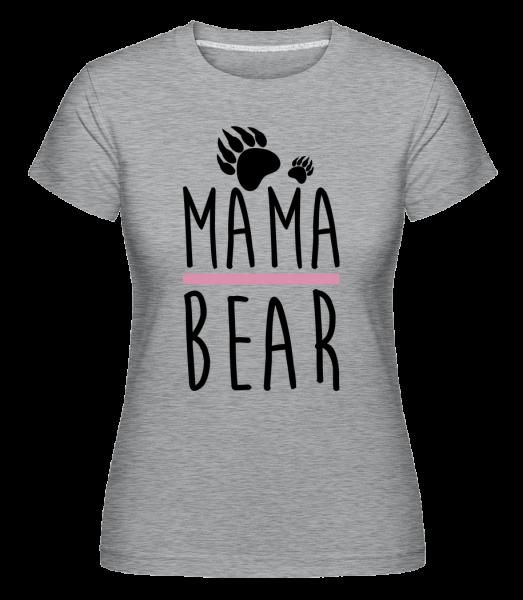 Mama Bear -  Shirtinator Women's T-Shirt - Heather grey - Vorn