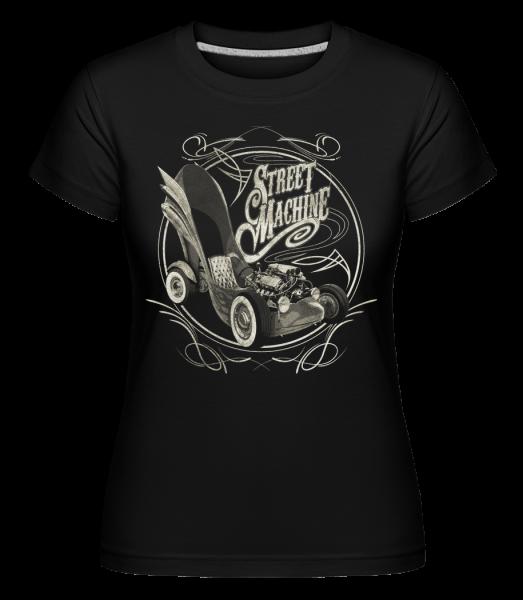 Street Machine -  Shirtinator Women's T-Shirt - Black - Vorn
