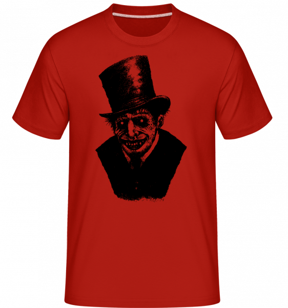 Gentleman Zombie - Shirtinator Men's T-Shirt - Red - Vorn
