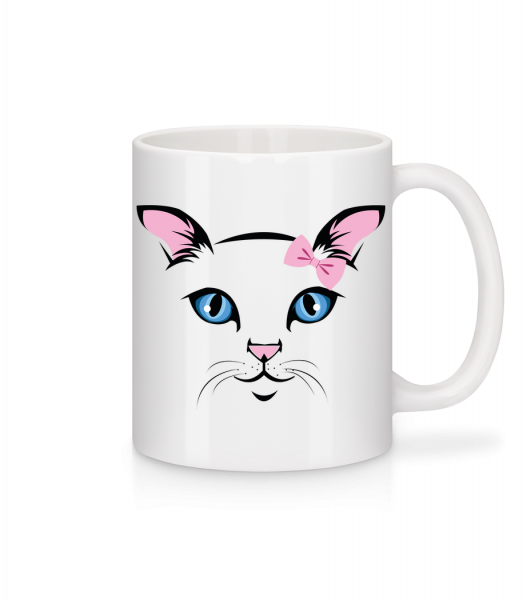 Cute Cat Kids - Mug - White - Vorn
